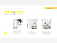 presentation template service layout