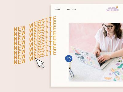 New Website! logo brand design graphic design illustration illustrator branding design