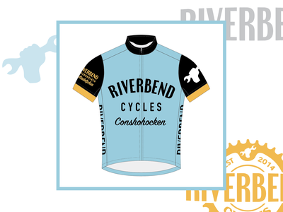 Riverbend Cycles Jersey jerseys biking pennsylvania conchohocken type jersey design design bike bikes cycling kit cycling jersey jersey cycling
