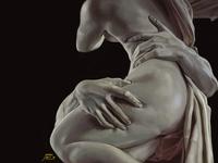 Study of Pluto & Proserpina (Bernini)