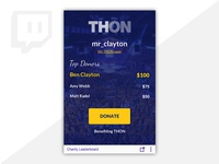Thon Twitch Extension