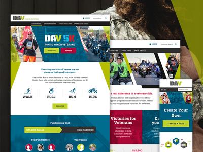 DAV icons web design ux ui donation event web banner banner non profit donate fundraising illustration web
