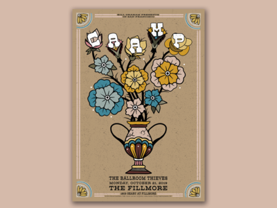 Fillmore Poster for CAAMP
