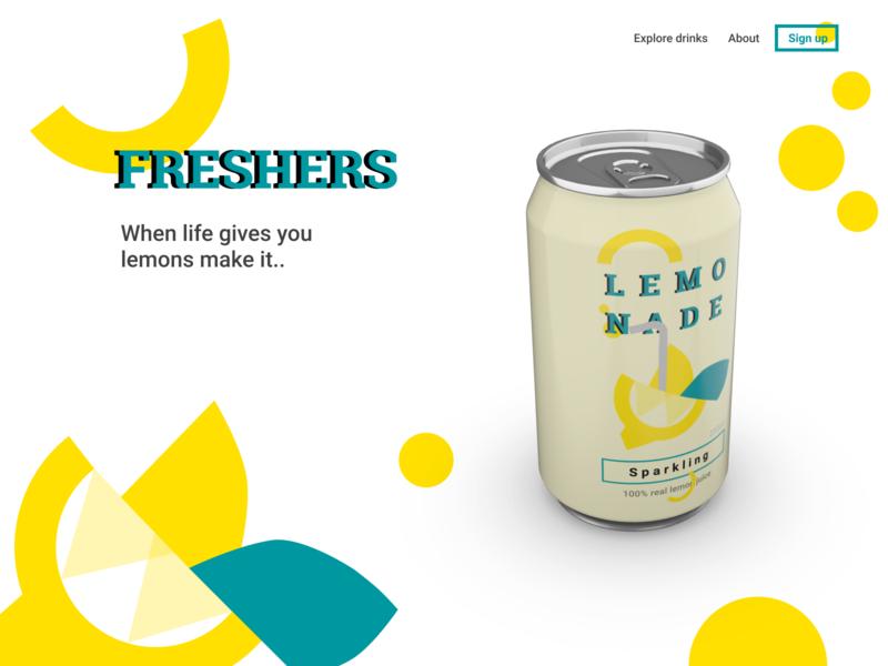 LEMO NADE animation web icon illustration logo ux splash screen ui design figma figmadesign