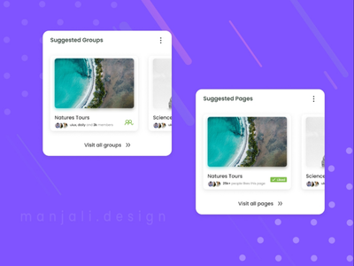 Suggested Section Design for Social Media App UI icons front-end development app ui design app design socialmedia ux design uiux ui design