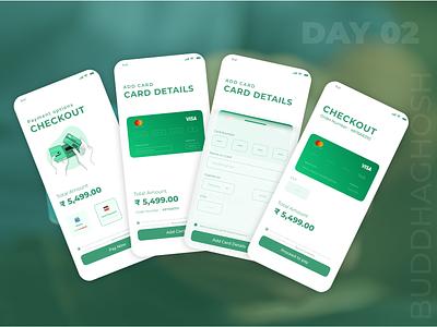 Payment Option UI Design | Card Payment Option | UI Design Day2 checkout options checkout appui uidesigners uxdesign uiux challenges dailyuidesign uidesign payment payment options