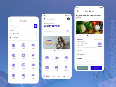 E-Commerce Screens 2.0 UI Design | Screens Showcase UI Design app uiux ui ux e-commece app ui design uidesign uichallenges uiinspiration dailyui e-commerce ui design ecommerce design