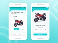 ArmadaRent App - Motor Rent App