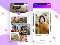 Mobile App Design : Photo Challenge App