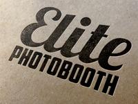 Elite Photobooth Leterpress Logo