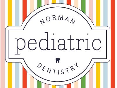 Pediatric Dental Clinic Logo dentist kids illustration identity logo design