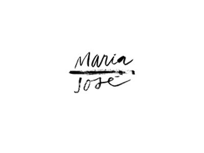 Maria hand-letter logo identity design
