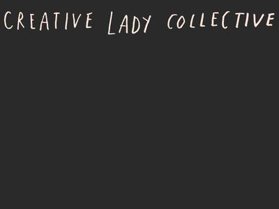 Creative Lady Facebook Group! women illustration graphic design hand-letter logo identity design