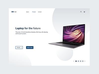 Laptop Website graphic design web figma website illustration typography flat ux ui minimal design