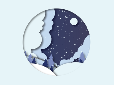 Baby it is cold outside vector illustrator art flat minimal illustration design