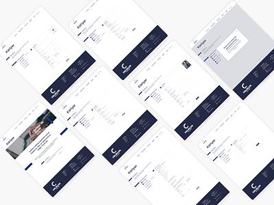 Job application form form web typography ui ux minimal design