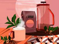 Coffee - self initiated project