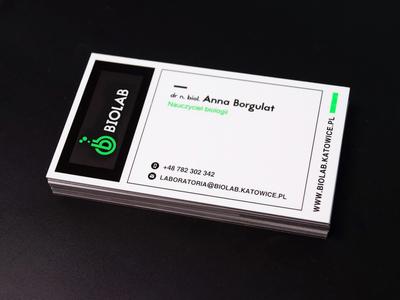 Biolab Business Card