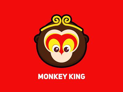 Monkey King illustrator animal ui