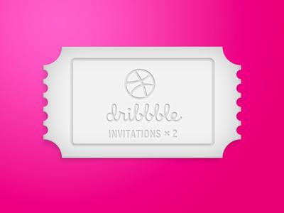 2 invitations invitation illustration ui