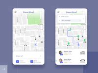 SmartPool - Carpooling App UI