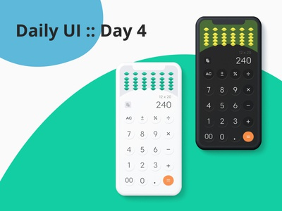 Daily UI :: Day4 Calculator