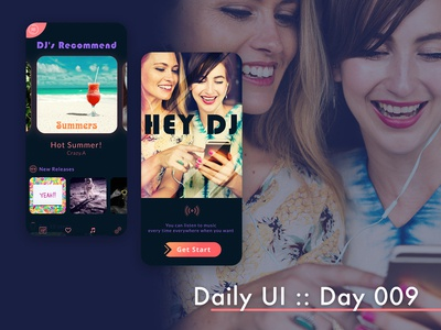 Daily UI :: day009 - Music Player