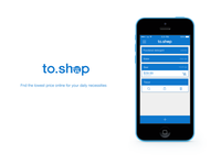to.shop - iPhone app