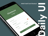 Daily UI #13 - Credit Card Checkout