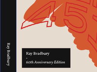 Fahrenheit 451 Book Cover Sketch