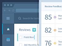 HR Admin Web App UI/UX