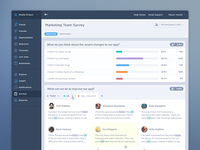Survey Analytics UI/UX