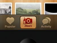 Wine App iPhone UI