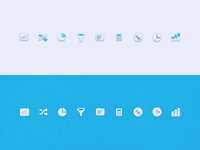 Mixpanel Navigation Icon Design