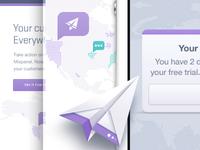 Landing Page UI Elements: Mixpanel