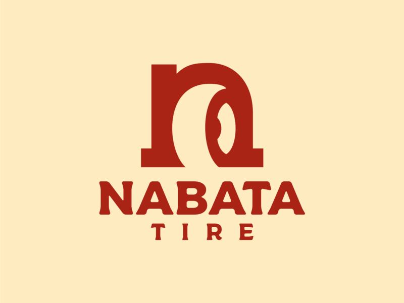 nabata tire logo design