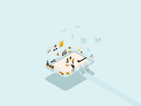Isometric ipad