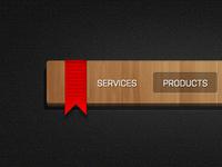 Freebie: Wooden menu
