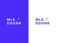 MLK.DSGNR // logo design // new identity
