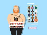 ACTION BRONSON - RAPMOJI