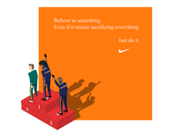 DAILY UI #02 - Nike campaign 2018 ( illustration )