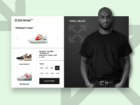 DAILY UI #12 - Off-White ( product page )