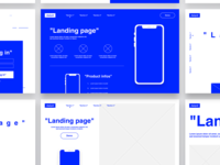 DAILY UI #26 - Landing Page ( templates )