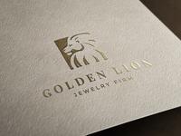 🦁Golden Lion - Logo Concept