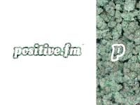 Positive.fm // Logo concept
