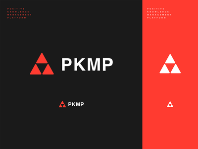 WIP // Branding PKMP icon sketch minimal process web type website typography vector ui french link zelda flat design illustration branding colors logotype logo