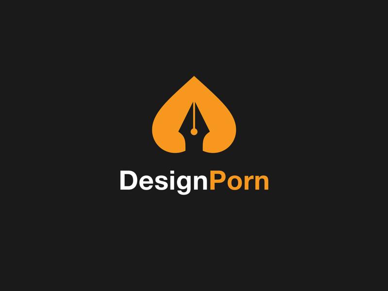 DesignPorn // Branding Concept booty ass pen french app web website colors ui icon vector typography process pornhub flat illustration branding logo porn design