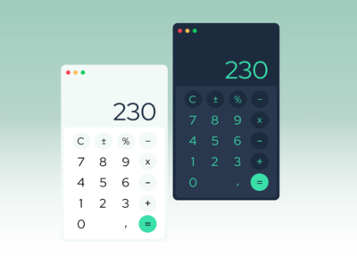 DailyUI Challenge - Calculator calculator webdesign uidesign dailyui
