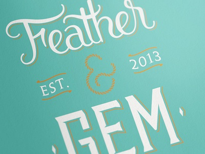 Feather & Gem