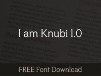 Knubi FREE Font Download